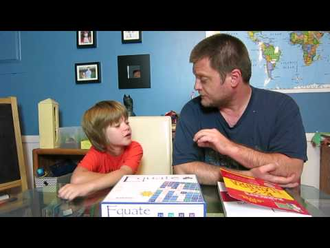 Home School Math thoughts and a Math Game Review - Day 447   ActOutGames