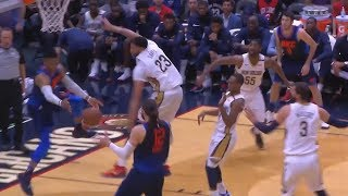 Russell Westbrook Fools The Entire Pelicans Team with Pass to Steven Adams Thunder vs Pelicans