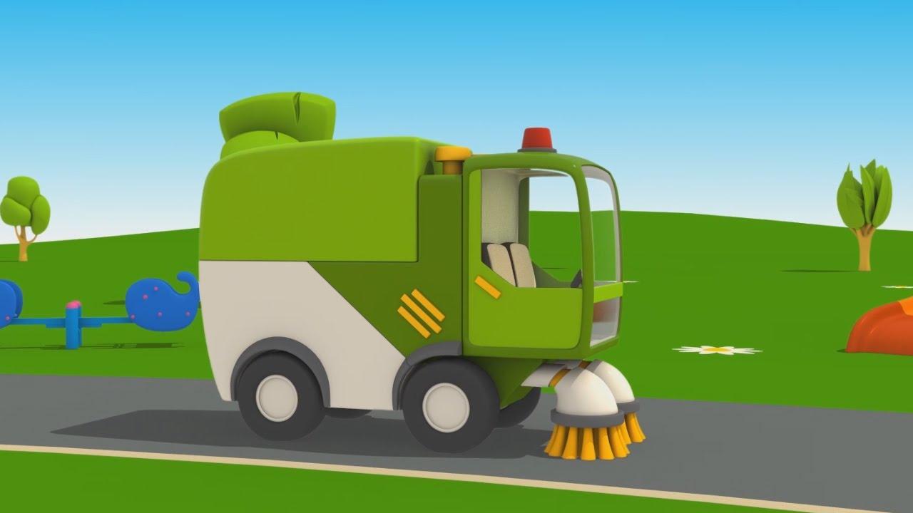 Cartoni animati per bambini camioncino leo jr come si