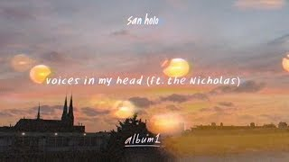 Watch San Holo Voices In My Head feat The Nicholas video