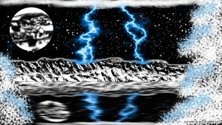 Lightning Painting Picture Drawing Digital GIMP