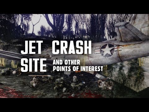 Point Lookout Part 9: The Jet Crash Site & Other Points of Interest - Fallout 3 Lore