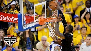Relive The LeBron James Chase Down Block   Sport Science   ESPN Archives