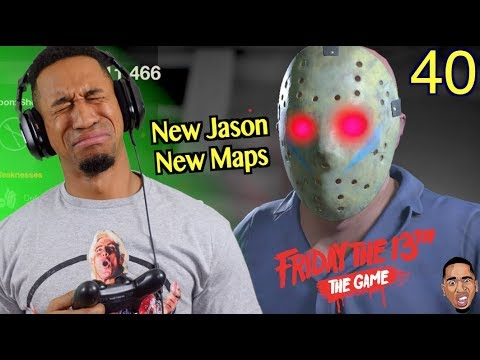 NEW JASON & MAP UPDATE! Friday the 13th Gameplay #40