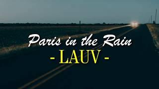 Download Lagu Lauv | Paris in the rain | Lyrics ESPAÑOL - INGLÉS Mp3