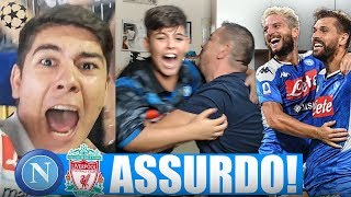 💣FENOMENALI!! NAPOLI-LIVERPOOL 2-0 | LIVE REACTION NAPOLETANI