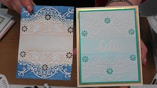 #245 Learn NEW Cut 'n Emboss Folders & Painting with Glitter Pens by Scrapbooking Made Simple