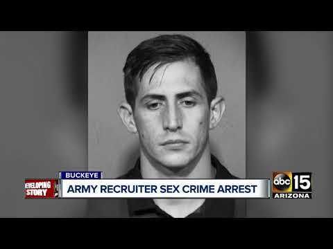 High school Army recruiter for west Valley schools accused of having sex with minor applicant