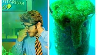 DIY: Slimer, Flubber (BIO) (NON Toxic, ohne Borax, ohne Kleber, ohne Stärke) - Tobilottarium 9