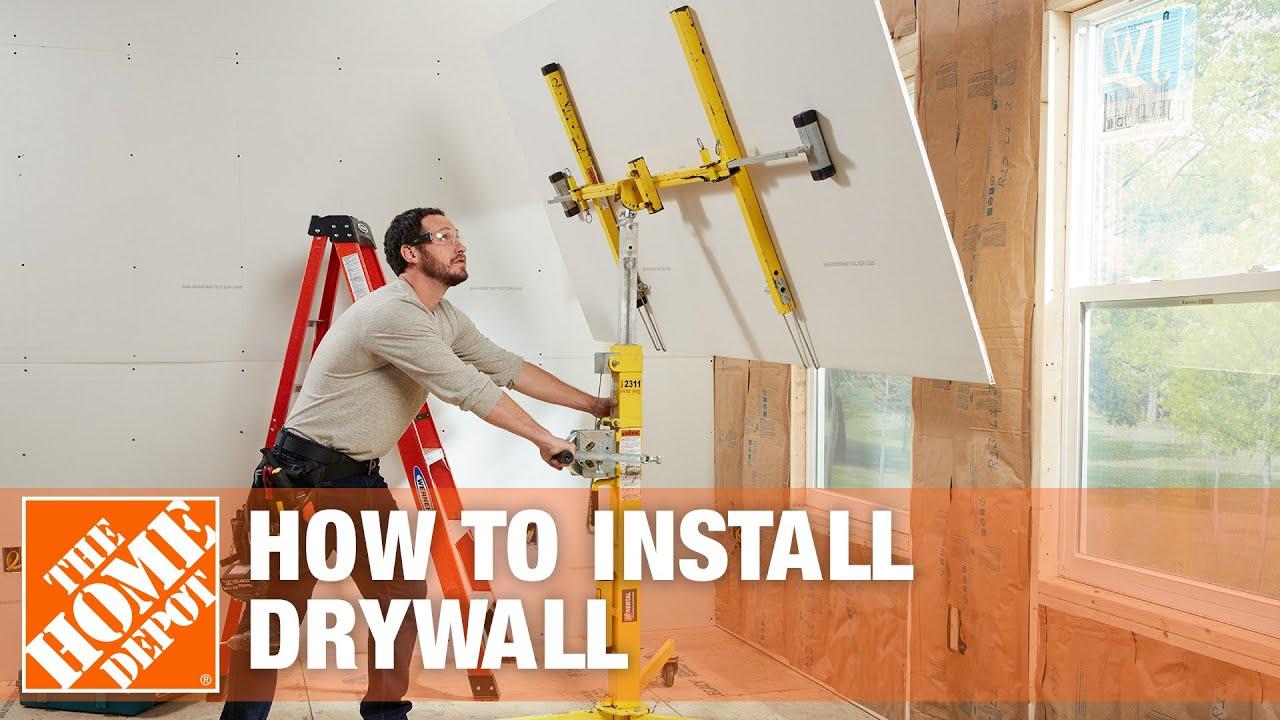 Hang Drywall Installation