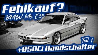 M5 E39 ein Griff ins Klo? | V12 Handschalter überbewertet oder nicht? | BMW Youngtimer Days | Teil 1