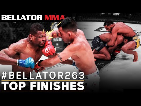 TOP Fight Finishes feat. Bellator 263 Fighters   Bellator MMA
