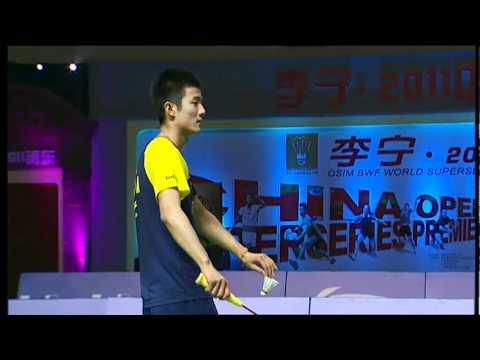 SF - MS - Chen Long Vs Simon Santoso - Li Ning China Open 2011