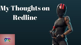 My thoughts on Redline- The Fortnite Skin