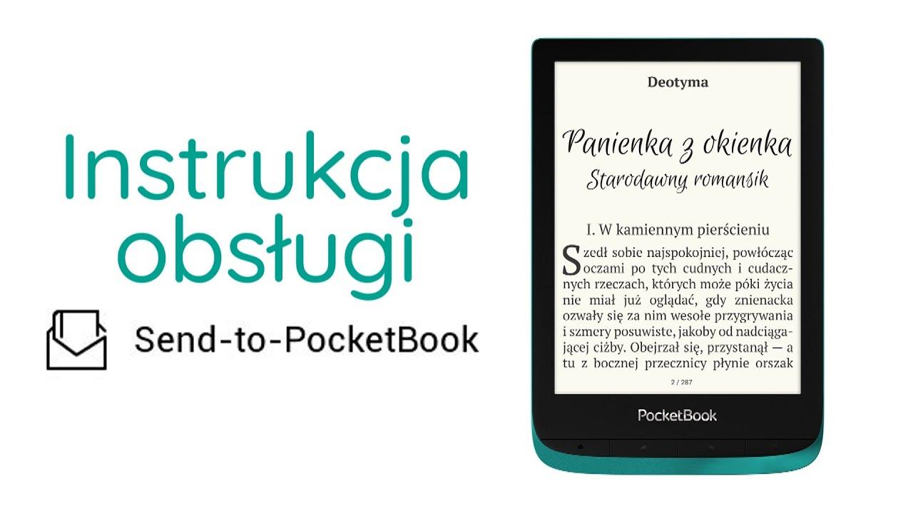 Jak przesyłać książki za pomocą aplikacji Send-to-PocketBook?