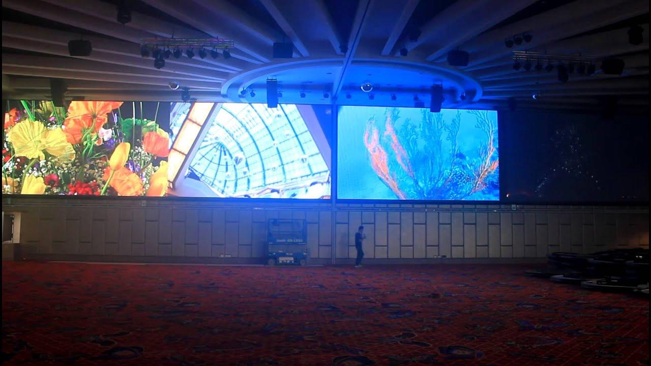 喬光科技開發製作-新竹室內超大宴會廳LED電視牆-華麗風采宴會館 - YouTube