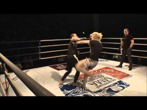 SEVEN FIGHT 2015 MMA Иваново Елена Селиванова VS Инга Апридонидзе