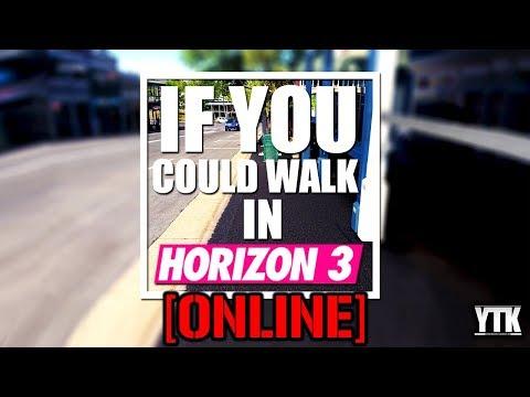 If you could walk in Horizon Australia Online
