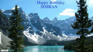 Simran  Nature - Happy Birthday