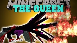 Minecraft: THE QUEEN (INTENSE BOSS, POWERFUL CRYSTALS, & MORE!) Mod Showcase