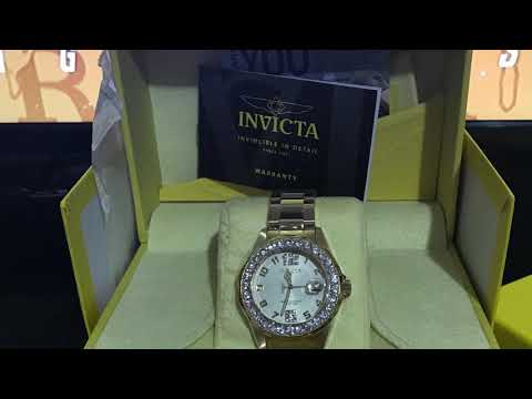 Invicta Pro Driver Womens Watch UNBOXING 😮 - Model 21397