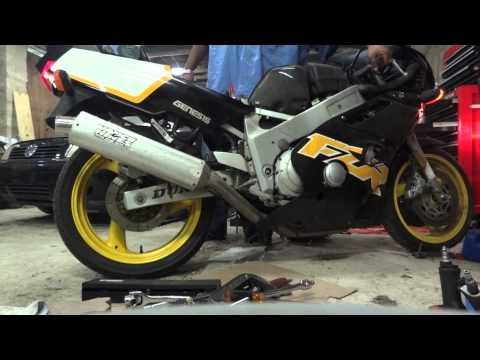1997 Yamaha FZR 600 Start and Revving