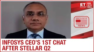 Early recovery in Tech trends to stay? | Infosys CEO Salil Parekh to ET Now
