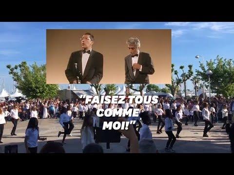 """Cannes: les 25 ans de """"La Cité de la peur"""" célébrée avec une carioca géante"""