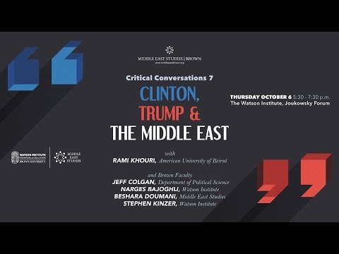 Clinton, Trump, and the Middle East: What is at Stake in the US Elections?