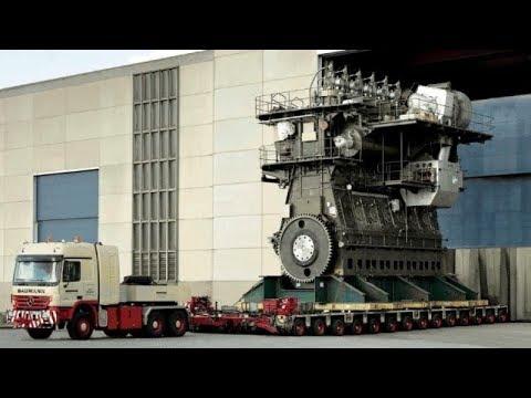 Huge Diesel Engines
