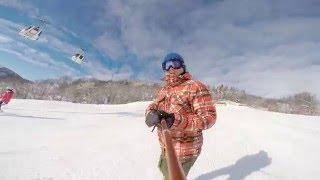 GoPro Snowboard 2016, Megeve-Combloux, Mont-Blanc