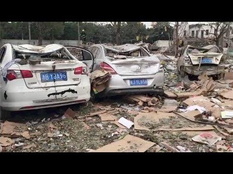 【速報】中国の寧波で大規模な爆発!多数の負傷者