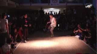 HALO THE KID vs TOSCHKIN   BBOYING FINAL   FUNK THE SYSTEM 2012/2