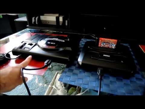 Sega Genesis Model 1 vs Model 2