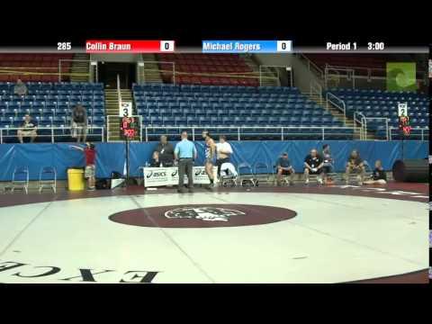 285 Collin Braun vs. Michael Rogers