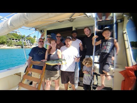Family Fishing Sosua Dominican Republic