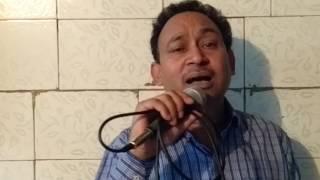 Kya hua tera wada by Arvind jauhari on karaoke 9811854490