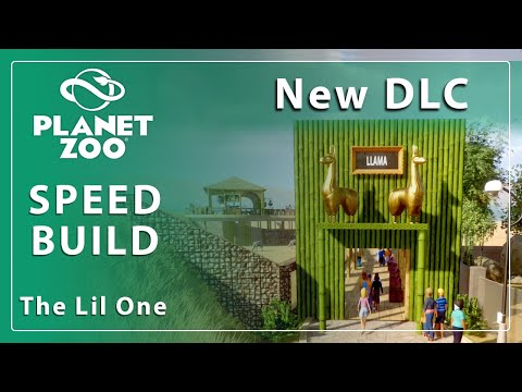 Planet Zoo SPEED BUILD | New South America DLC items |