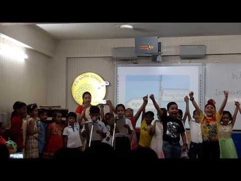 Aaron School play R D Rajpal School