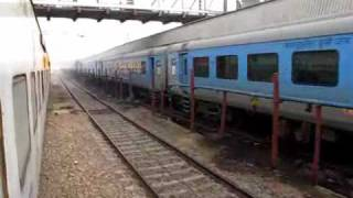 IRFCA INDIAN RAILWAYS JOURNEY IN RAJDHANI EXPRESS AC FIRST CLASS TRAVEL