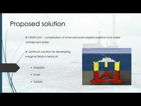 Floating Offshore Structures, Marginal Fields, group D