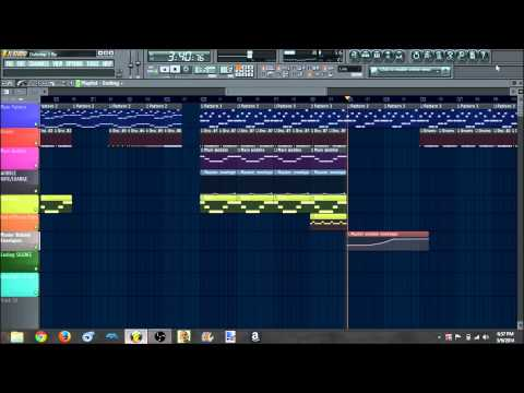 My First Dubstep Song/Beat ever made in FL Studio 11! (2014)