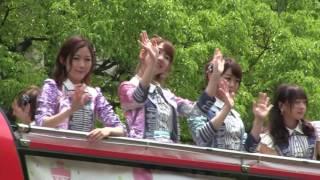 【第47回神戸まつり 2017】AKB48 指原莉乃他メンバー/松平健、コロッケ、川中美幸など、著名人 on パレード 5月21日(日) 指原莉乃 動画 20