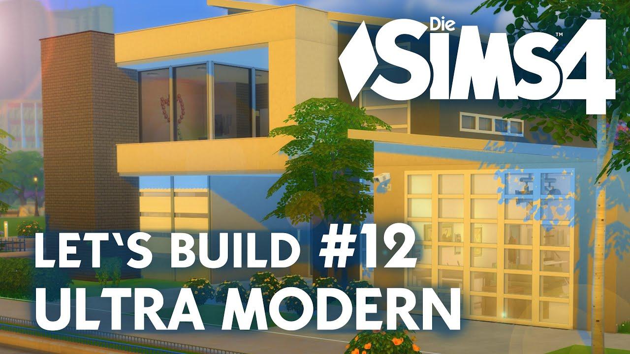 Die sims 4 lets build ultra modern 12 gegenteil garage