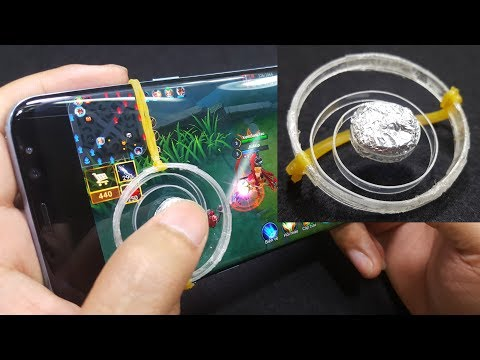 How to make a Smartphone Joystick using Plastic Bottle