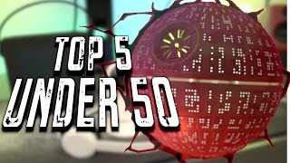 top 5 tech gadgets under 50 may 2016