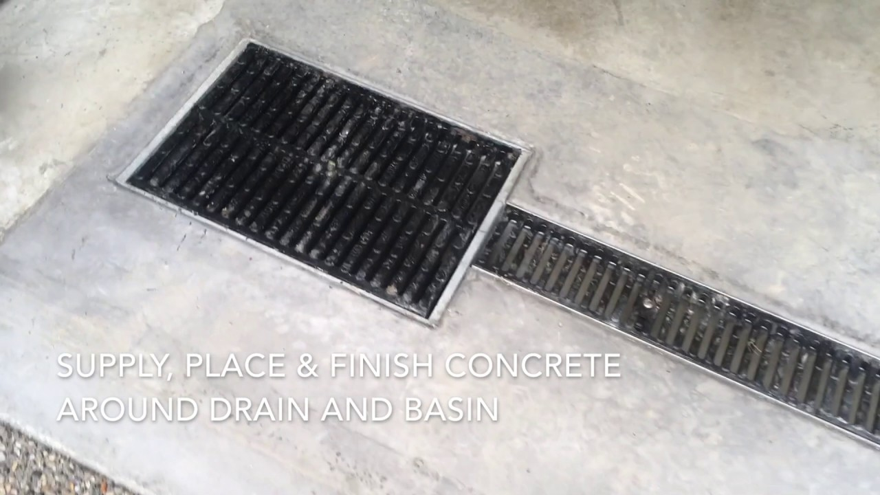 Garage Innovations Oklahoma City Garage Floor Drainage System By Concrete Innovations