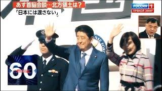 Синдзо Абэ прилетел в Москву: чего ожидать от российско-японских переговоров? 60 минут от 22.01.19