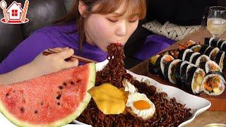 짜.계.치 (사천짜파게티, 계란후라이, 체다치즈) & …
