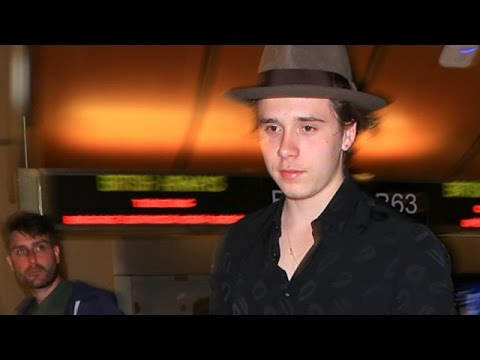 Brooklyn Beckham Leaving LA After A Week With Chloe Moretz